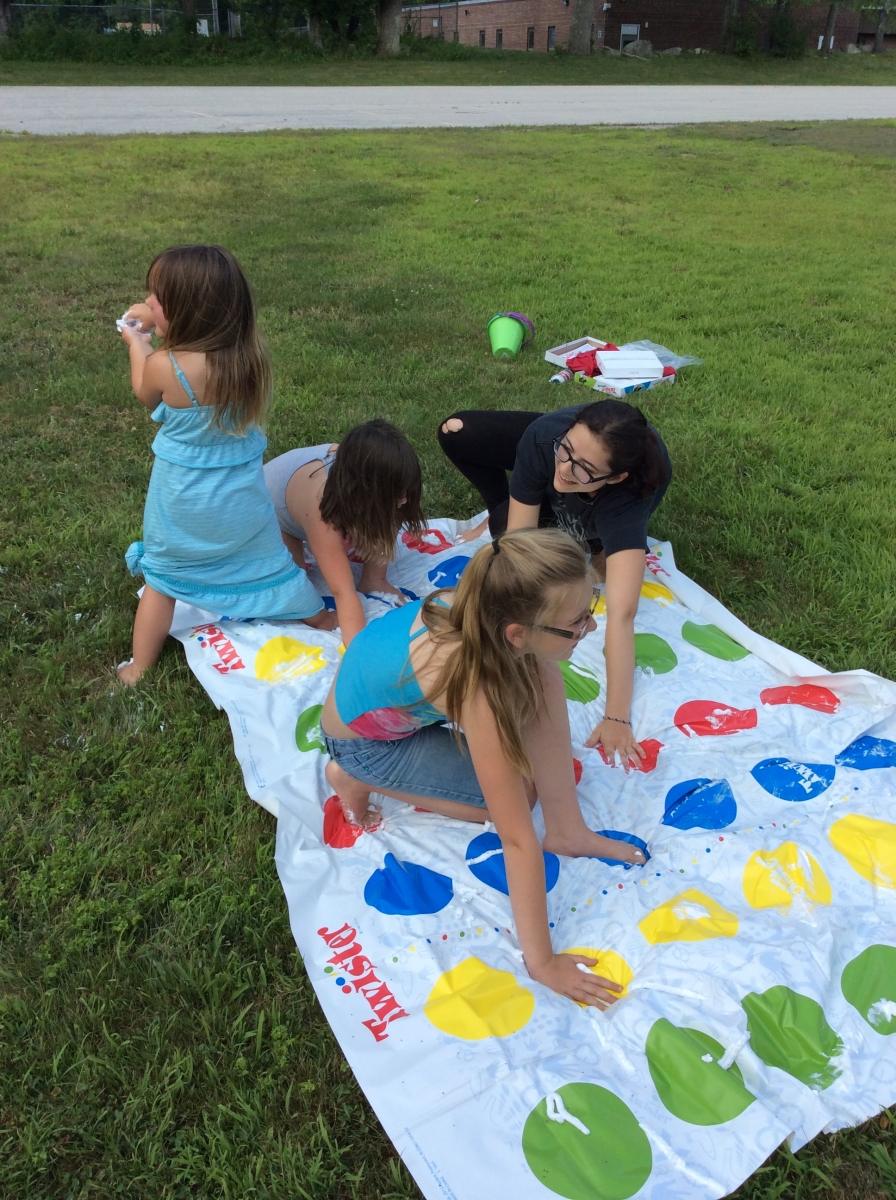 Summer Reading- Messy Twister