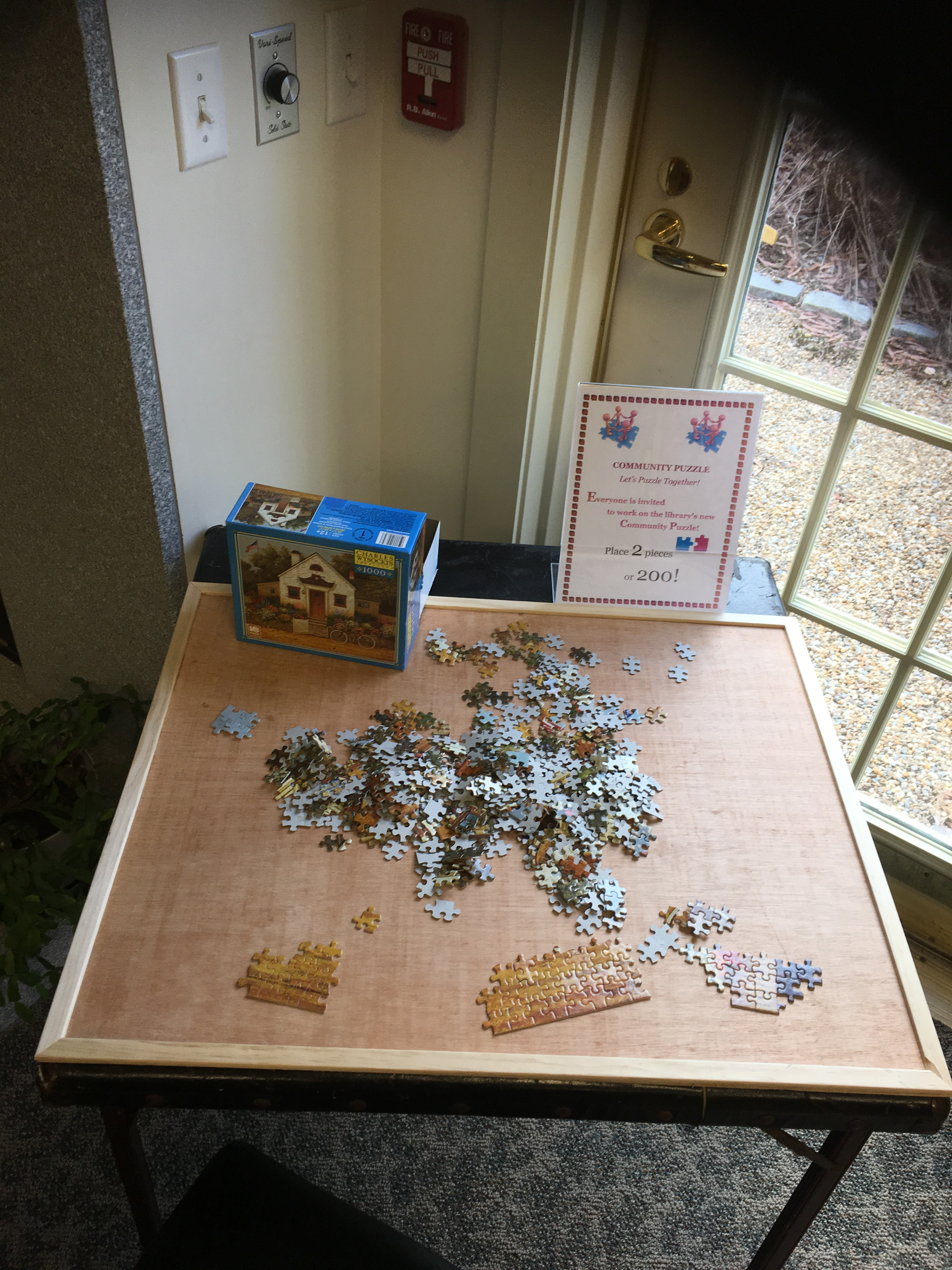 Work on a Puzzle!