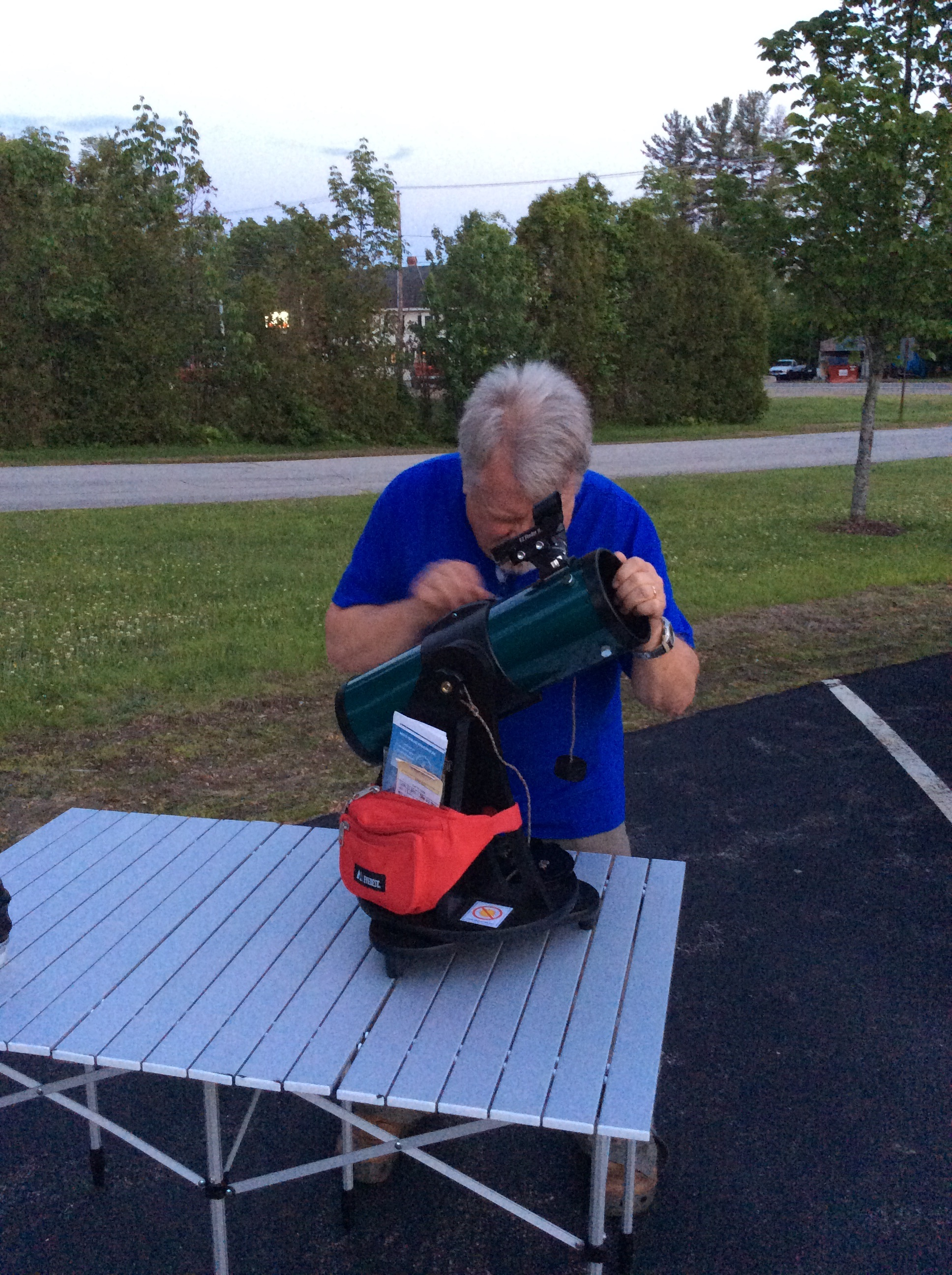 Telescope Preperation from Skywatch with NH Astronomical Society
