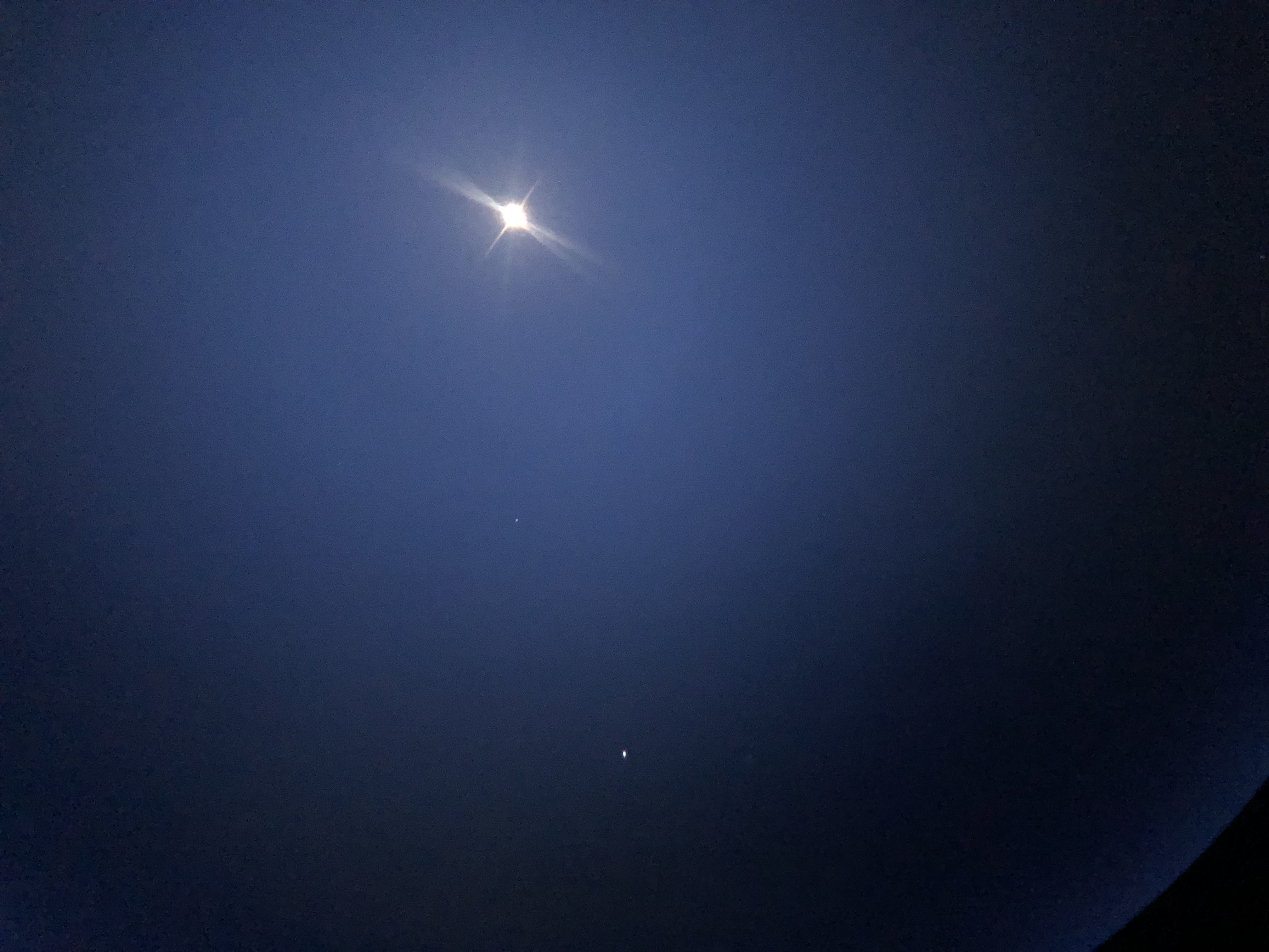 First stars viewed at the Skywatch with NH Astronomical Society