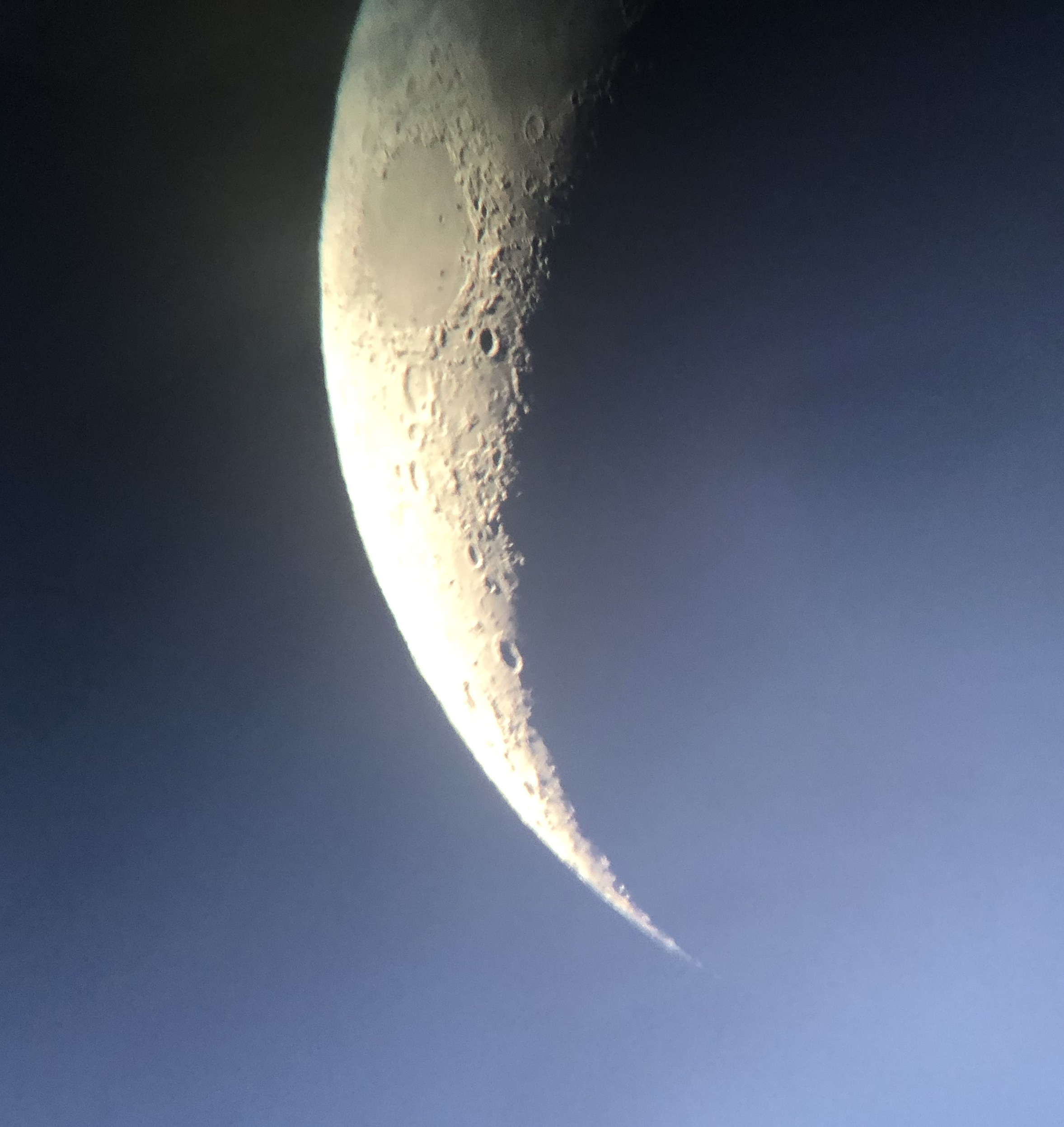 Moon View from Skywatch with NH Astronomical Society