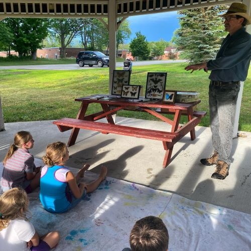 The pollinator presentation on July 1 was a great time! Thank you to Jerry for coming to talk to the children about the importance of pollinators!